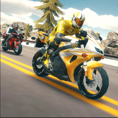 Highway Bike Simulator